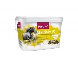 Pavo MultiVit15 - Kompletny suplement witaminowy